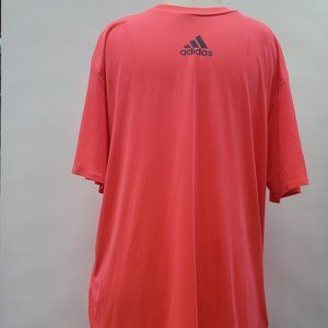 Adidas Men's Barricade Tee Shirts Tennis Flash Red